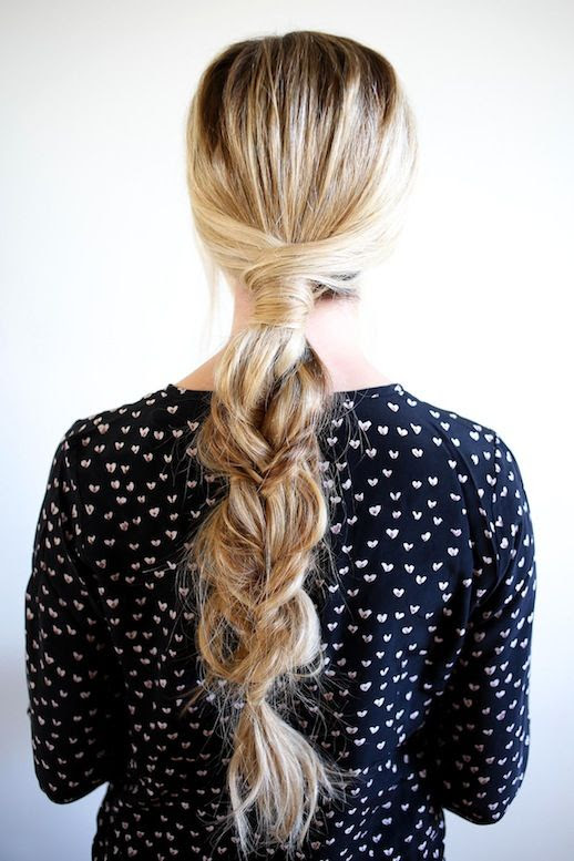 9 Le Fashion Blog 21 Braid Ideas For Long Hair Romantic Single Braided Hairstyle Via Barefoot Blonde