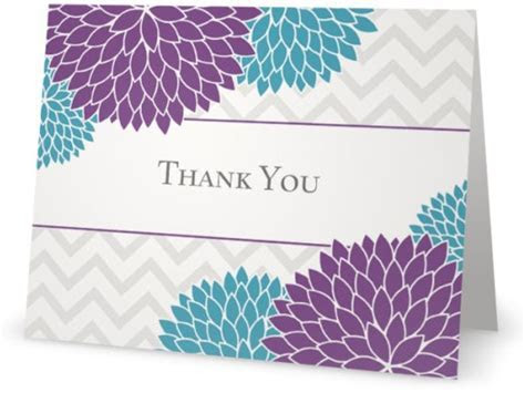 floral design thank you cards   Custom Printing Deals