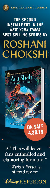 Aru Shah and the Song of Death by Roshani Chokshi