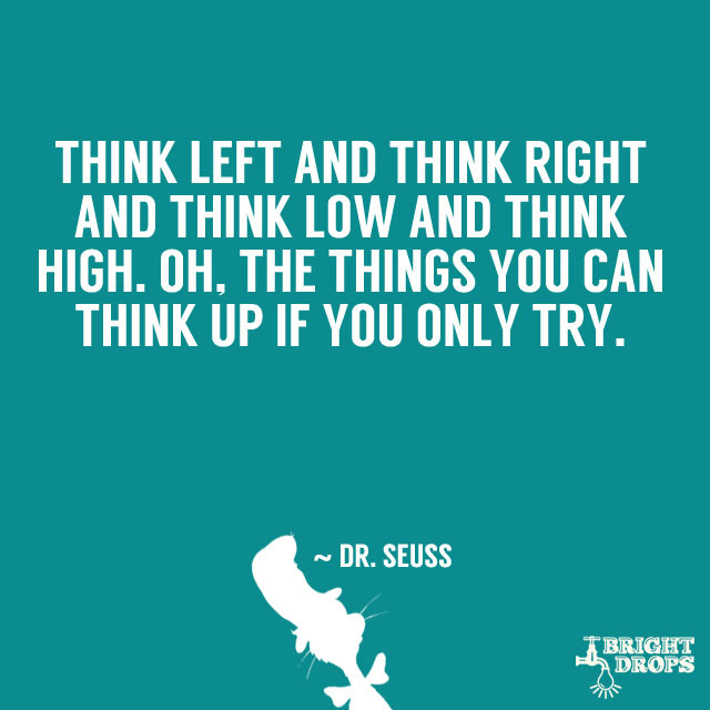 Dr Seuss Think Quotes. QuotesGram