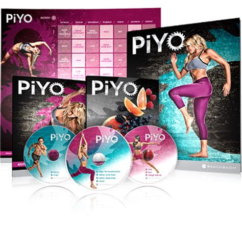 piyo workout dvds  weights  jumps  hardcore