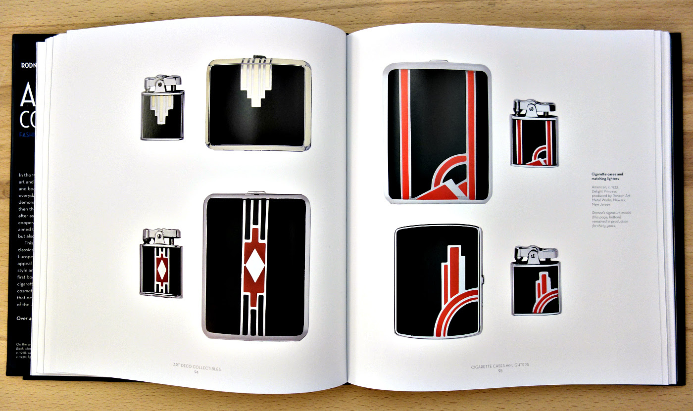 Pages from 'Art Deco Collectibles' (photo of the book for Hyperallergic)