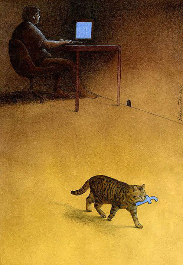 AD-Satirical-Illustrations-Show-Our-Addiction-To-Technology-63