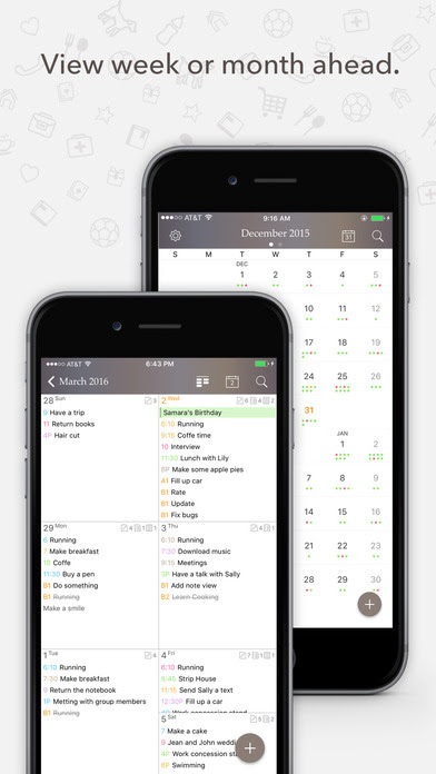 Daily Planner 2017 App