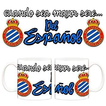 Taza cuando sea mayor seré del Espanyol