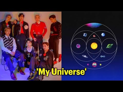 Coldplay Ft. Bts - My Universe Mp3 Download