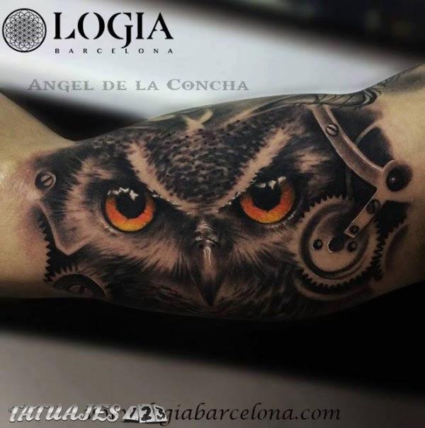 Tatuaje De Búho Tatuajes 123