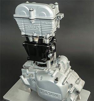 Plástico chega aos motores