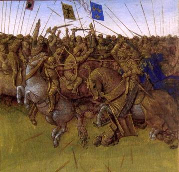 Charlemagne and Roland Battle