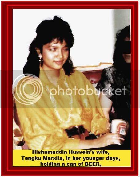 hishamuddin wife tengku marsila