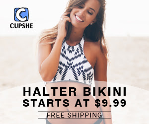 Halter Bikini! Starts at $9.99! Free Shipping!