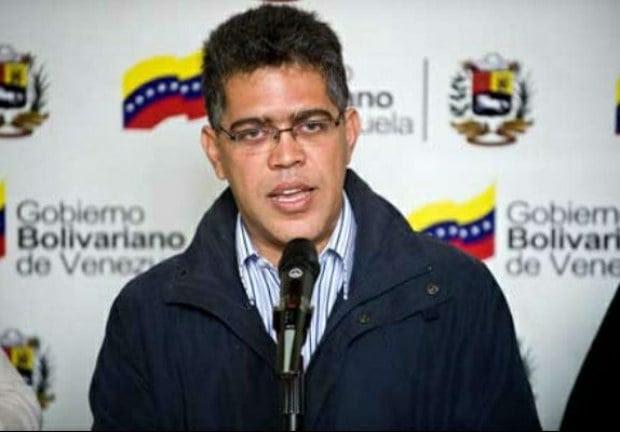 El Canciller Elías Jaua