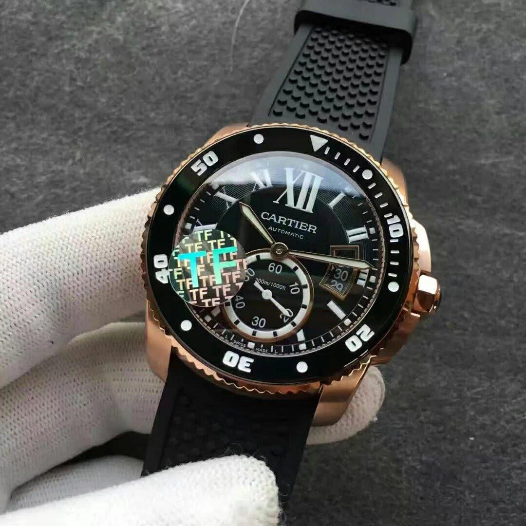 Calibre de Cartier Rose Gold Watch