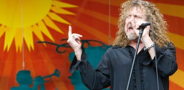 Robert Plant, vocalista do Led Zeppelin