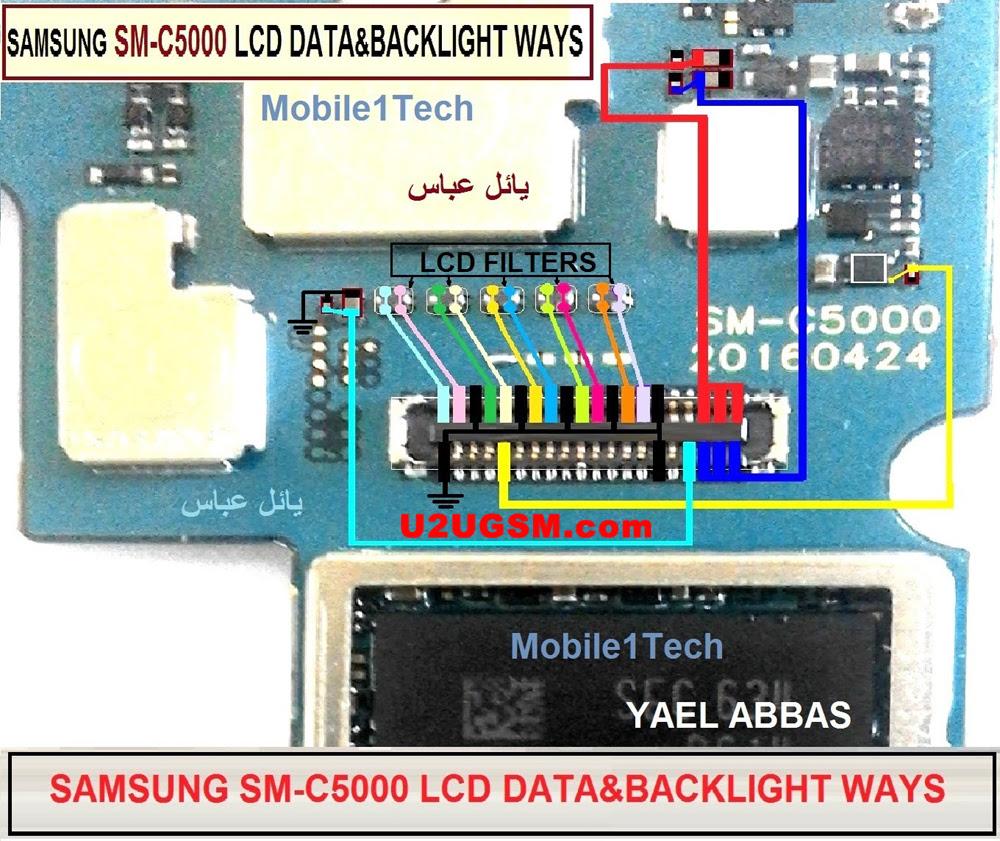 Samsung Galaxy C5 Display Problem Solution Jumper Ways