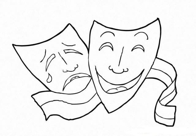 Dünya Tiyatrolar Günü 27 Mart Boyama Sayfaları