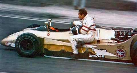 GP da França de 1979: o alemão Jochen Mass e o belga Jacky Ickx