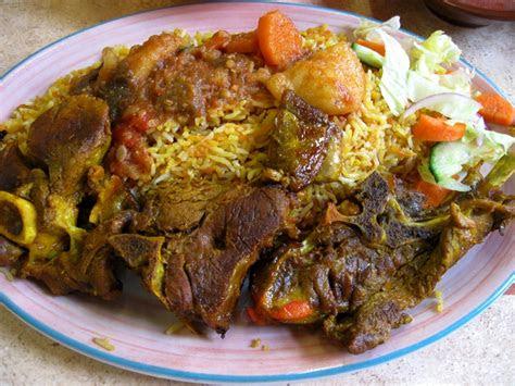 nasi daging kambing panggang simple koleksi resepi emak