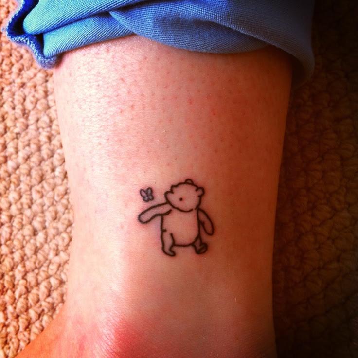 Simple Winnie The Pooh Tattoo Tattoomagz