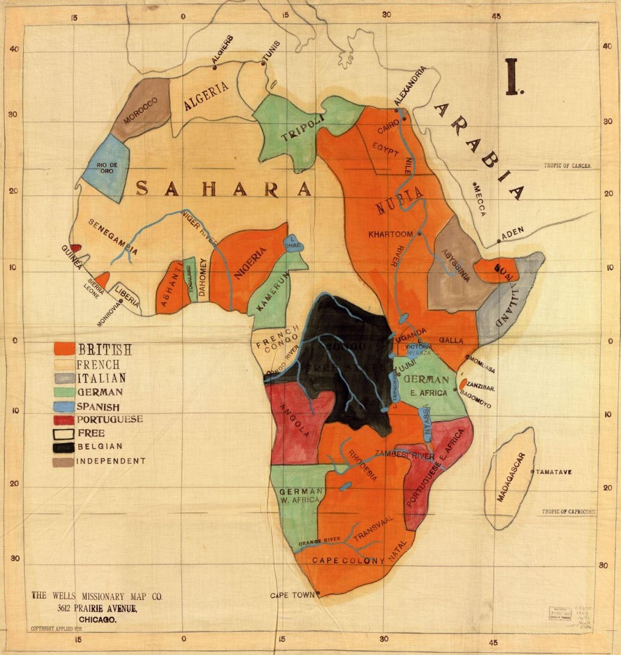 Clique para ampliar (coleção mapa histórico de David Rumsey)
