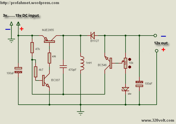 50 CIRCUIT DIAGRAM OF DC TO DC BOOST CONVERTER, DC DC ...