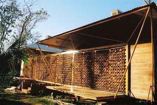 43 Koleksi Gambar Rumah Dari Kulit Bambu Terbaik