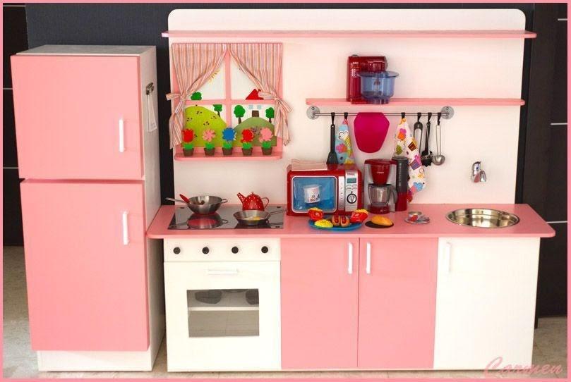 Casas cocinas mueble cocinas de juguete madera for Mueble juguetes