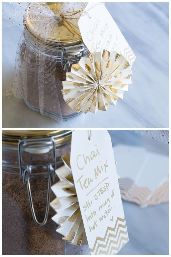 Instant Chai Tea : Three homemade gifts with pretty packaging from The Container Store