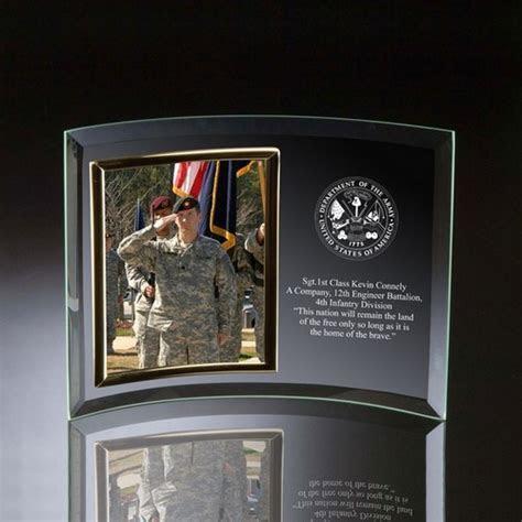 Army Glass Vertical 5x7 Photo frame