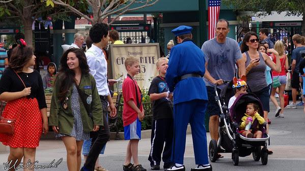 Disneyland Resort, Disney California Adventure, Buena Vista Street, Officer Blue