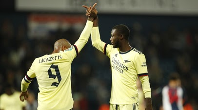«Арсенал» разгромил «Вест Бромвич» в Кубке английской лиги