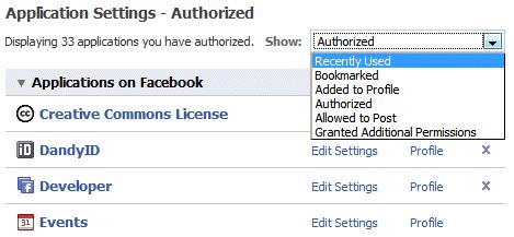 Authorized Apps