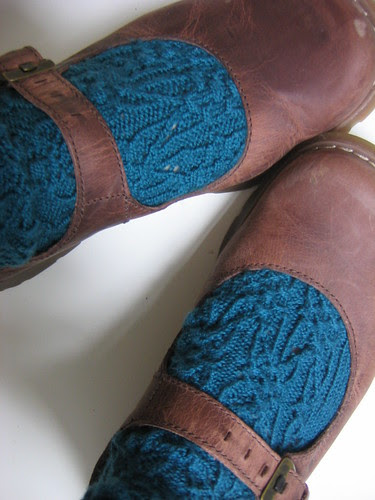 gothic spire socks with brown shoes