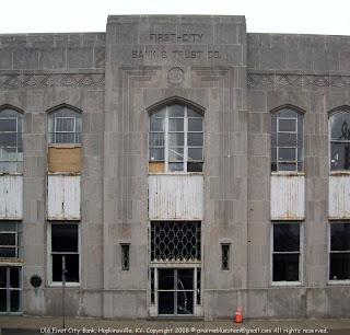 Old bank building, Hopkinsville, KY