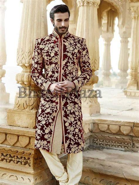 designer sherwani collection pakistan groom sherwani   Men