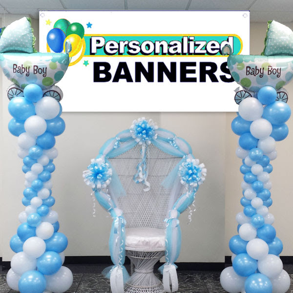 Balloon Decoration Ideas For A Baby Shower Baby Shower Mom S Foods