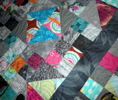 Mystery Quilt - QUILTED!
