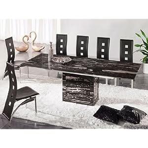 table manger table de salle manger extensible zeus. Black Bedroom Furniture Sets. Home Design Ideas