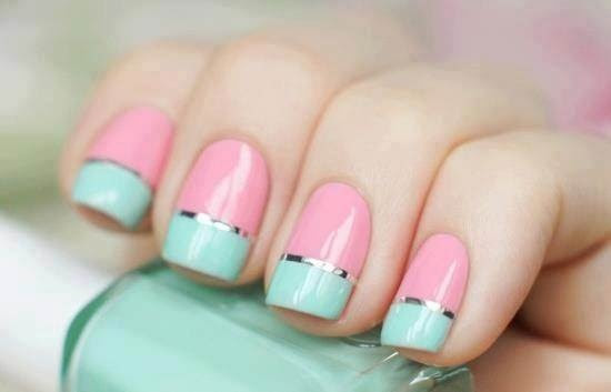 34 Amazing DIY Nail Art Ideas Using Scotch Tape (6)