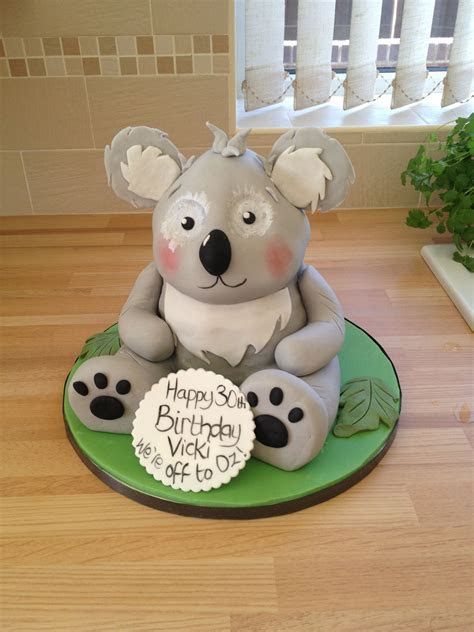 Pin Pin Koala Birthday Cake On Pinterest Cake on Pinterest