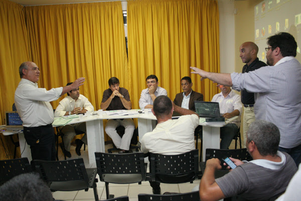 José Wilson, pelo ABC, e Klebet Cavalcanti, pelo América, debateram a aplicação do voto de minerva