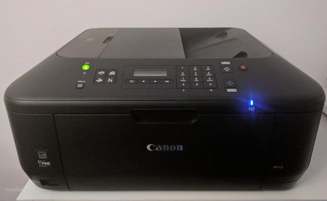 Una impresora inalámbrica fabricada por Canon