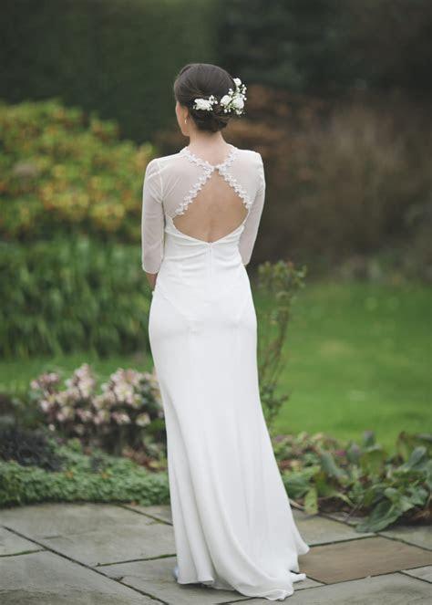 Modern Vintage Belle & Bunty column dress with low back