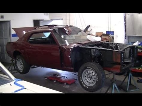remove  install front shocks    mustang