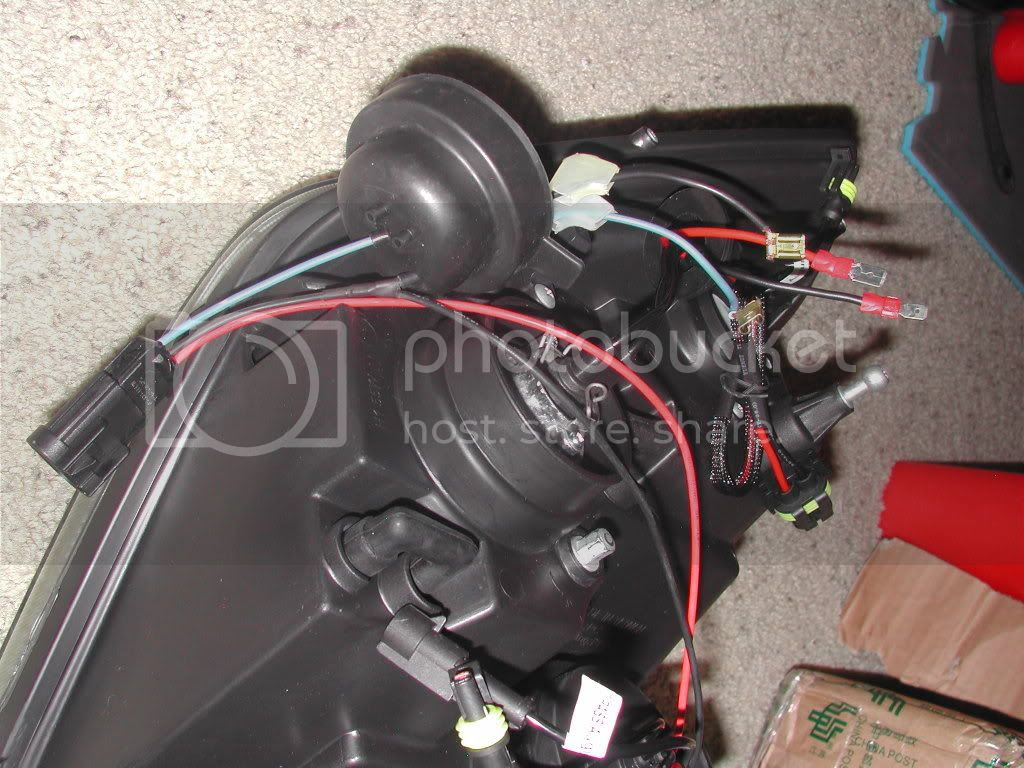 Spyder Hid Headlight Wiring Connection Diagram
