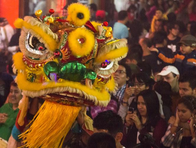 Esta fiesta es la más importante para el pueblo chino. (Cuartoscuro)