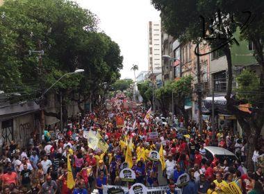 Protesto contra Reforma da Previdência no Campo Grande reúne 40 mil pessoas, diz CTB