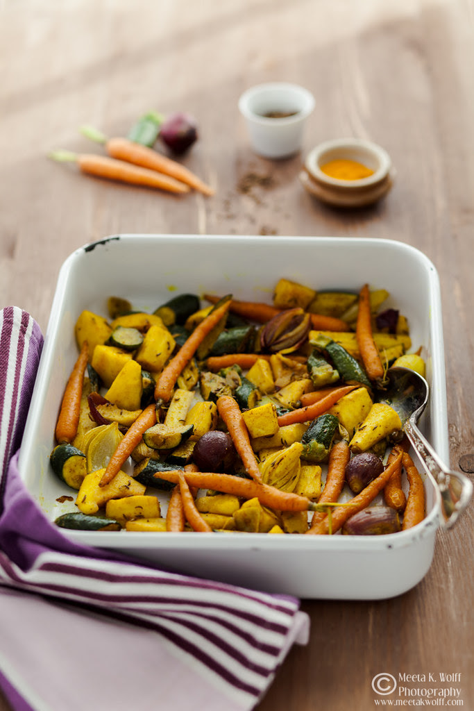 Turmeric Slow Roasted Veggies Couscous Pilaf 0032