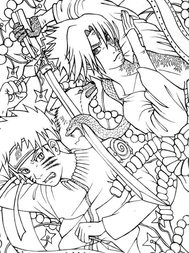 Naruto Sasuke Drawing At Getdrawingscom Free For Personal Use