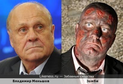 Владимир Меньшов - печальный зомби